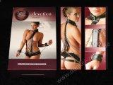BRUSTHARNESS - Leder Ketten - Brust-Geschirr - Bondage Body Harness v. Fetish Collection