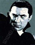 DRACULA - BELA LUGOSI -Klassik Grusel Film Portrait v. Grimboldtt