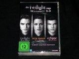 DVD - TWILIGHT SAGA - WAS BIS(S)HER GESCHAH 1-3 - limited Edition - Vampir - Romantik - OVP