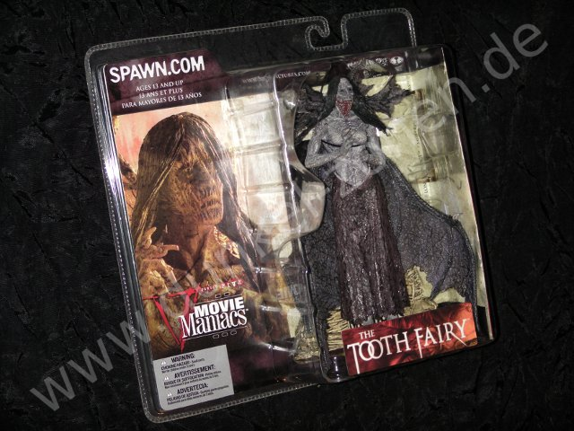 MOVIE MANIACS 5 V - THE TOOTH FAIRY - Horror Action Figur - Fluch von Darkness Falls