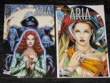 ARIA 1-2 - Fantasy-Zweiteiler vom Panini Verlag - komplett