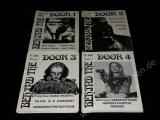 BEHIND THE DOOR 1-8 - Insider Magazin für Fantasy Grusel Horrorfilm - Hefte Paket