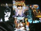 CHASTITY ASHCAN + 1-3 Vampir-Comics -Chaos -komplett - sexy