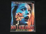 DVD - DON'T SCREAM... DIE - Spur in den Tod - Horrorfilm - Monster Ungeheuer Kreatur Wesen