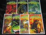 GODZILLA 1-7 - komplette Serie v. Carlsen-Verlag - japanisches Monster Ungeheuer Dino