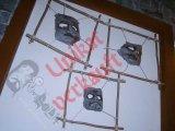 GRIMASSEN-Set 1 rustikal -Gesichtshäute -Wanddeko v. Grimboldtt