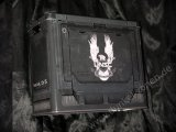 HALO 5 UNSC TIN AMMO BULLET LUNCH BOX - Loot Crate exclusive Munitionskiste RAR