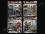 MONSTERS PLAYSETS SERIE 2 - Dr. Frankenstein, Mummy, Phantom of the Opera, Sea Creature