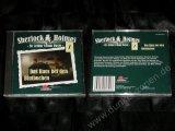 SHERLOCK HOLMES 1 - DAS HAUS BEI DEN BLUTBUCHEN - Krimi Hörspiel Geschichte CD